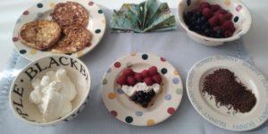 Lekker ontbijten met keto pannenkoeken