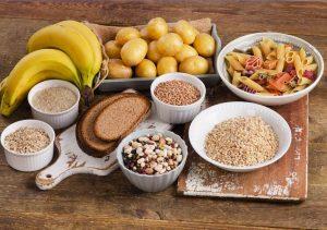 Dieet met veel koolhydraten