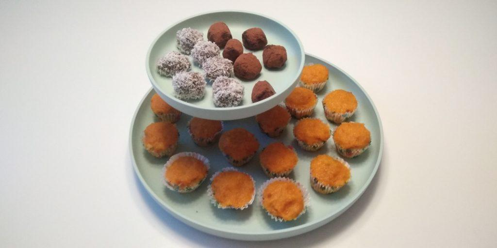 Zelf keto truffels en keto mandarijnen cupcakes maken