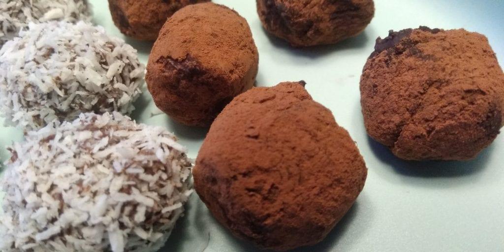 Zelf keto truffles maken