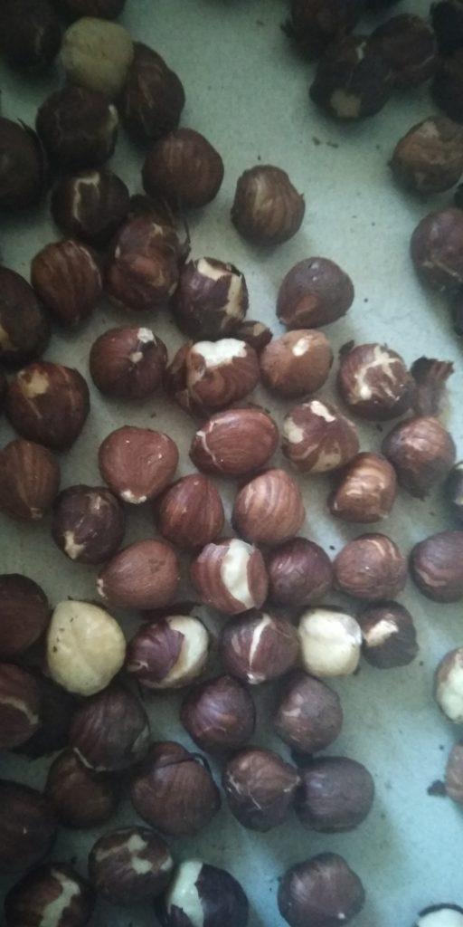 hazelnoten roosteren