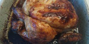 Zo ziet je gebraden keto kip eruit als hij uit de oven komt