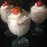 Keto Haagse bluf met aardbeien