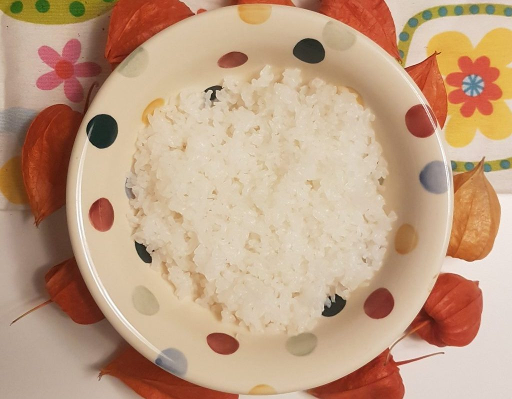 Keto konjac rijst