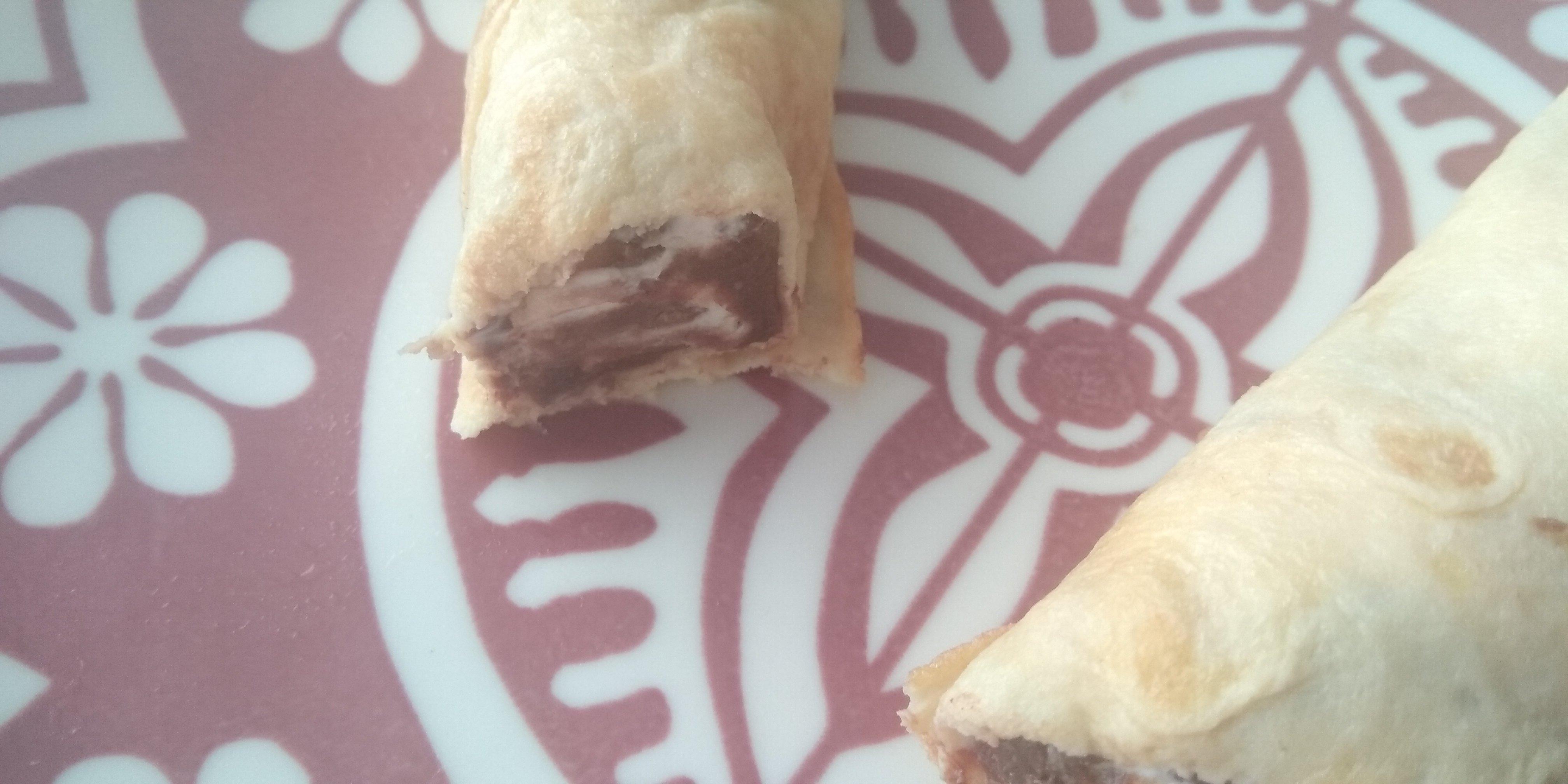 Keto wrap met mascarpone en ketotella