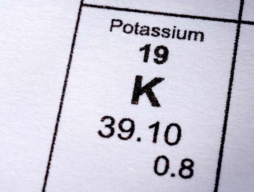 kalium is hetzelfde als potassium