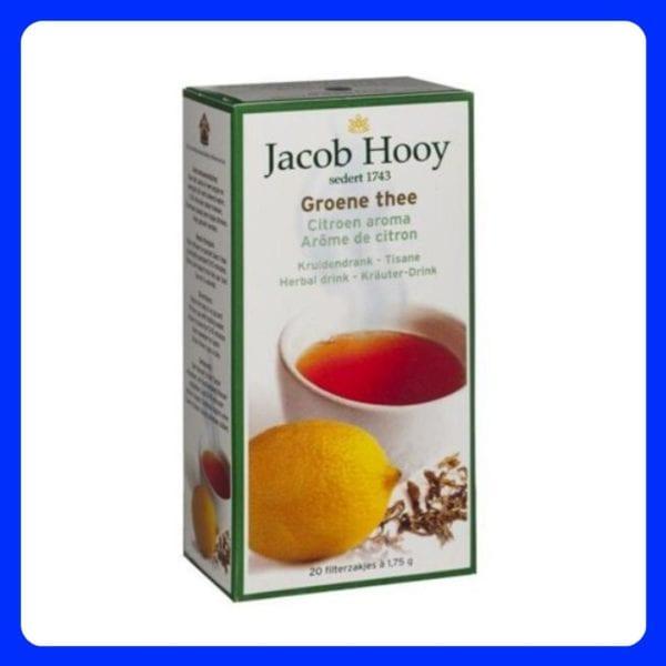 Jacob Hooy groene thee met citroen