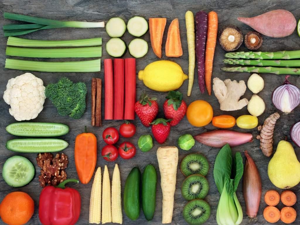 vijf porties groenten en fruit