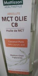 MCT C8 olie