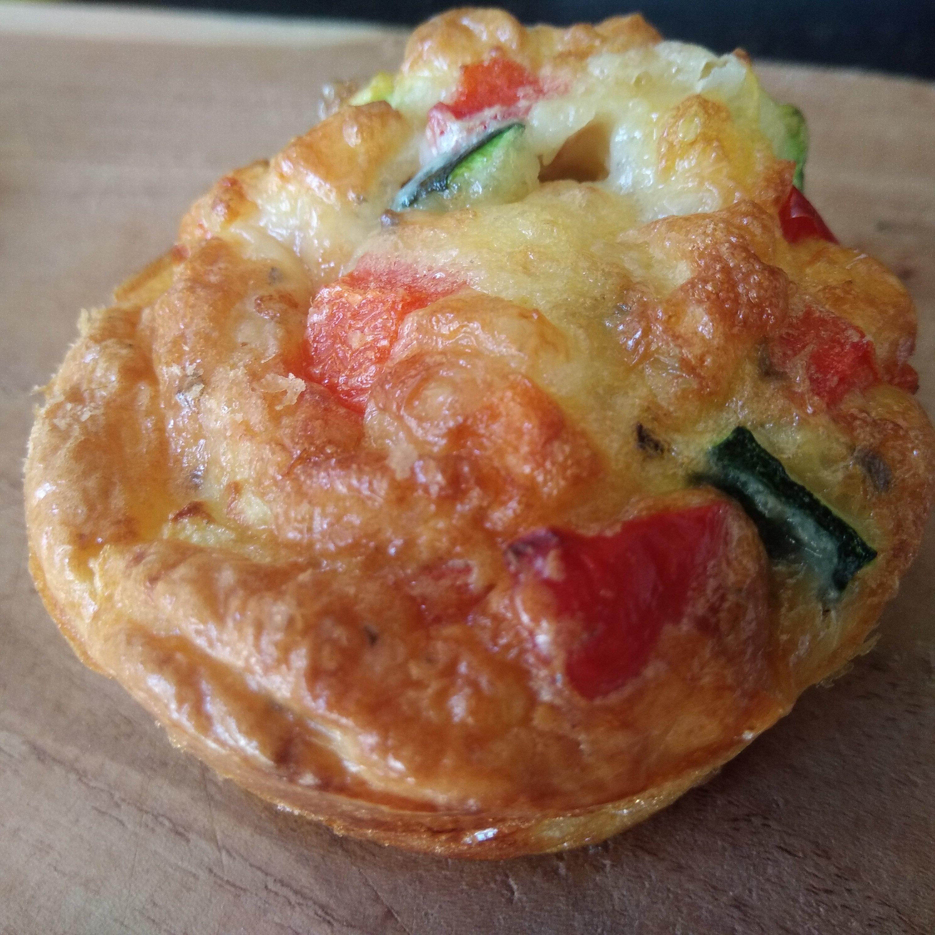 Keto Roquefort muffins