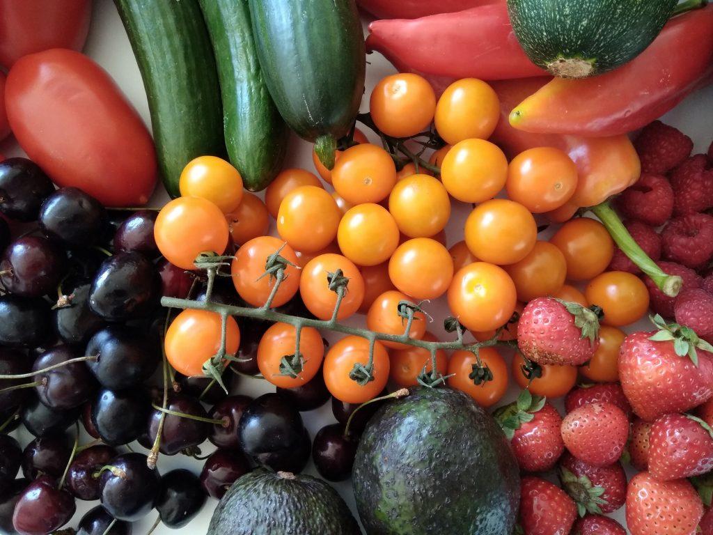 Groente en fruit op het keto dieet