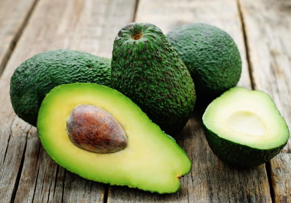 Avocado bevat veel vezels