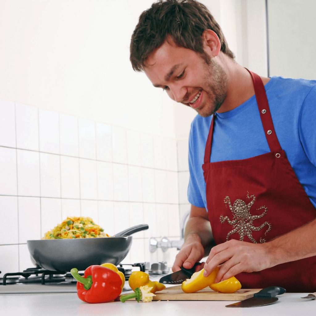 Gezond eten is zelf koken