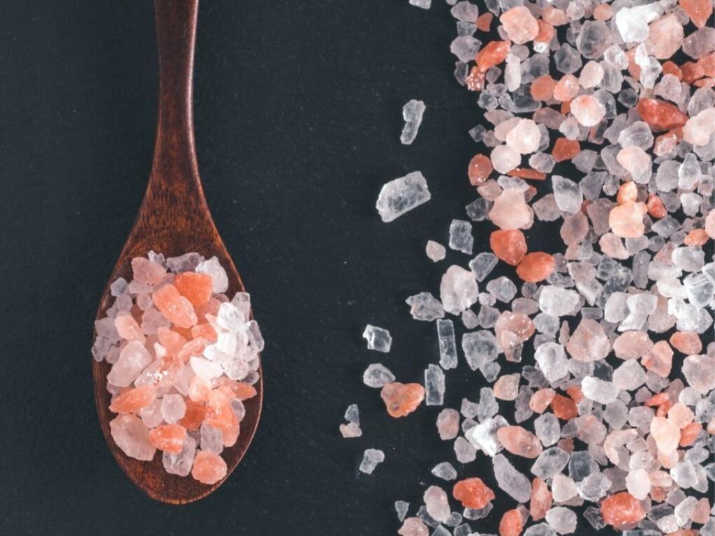 meer zout en stop met suiker