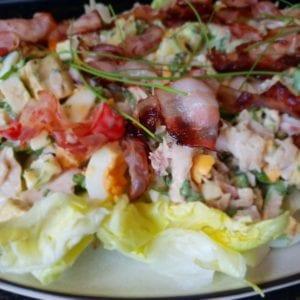 Keto Cobb salade