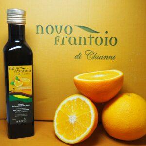 Novo Frantoio olijfolie met sinaasappel