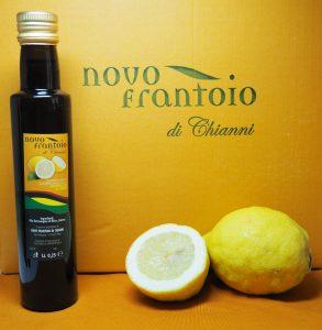 novo frantoio olijfolie met citroenen