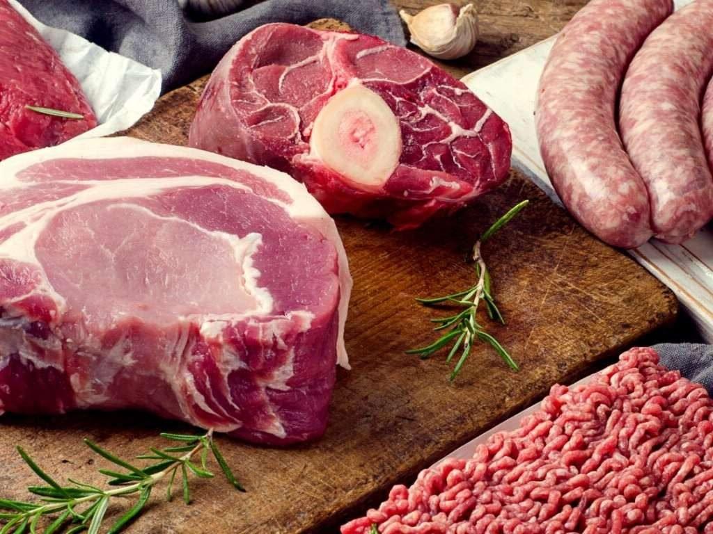 vettere stukken vlees