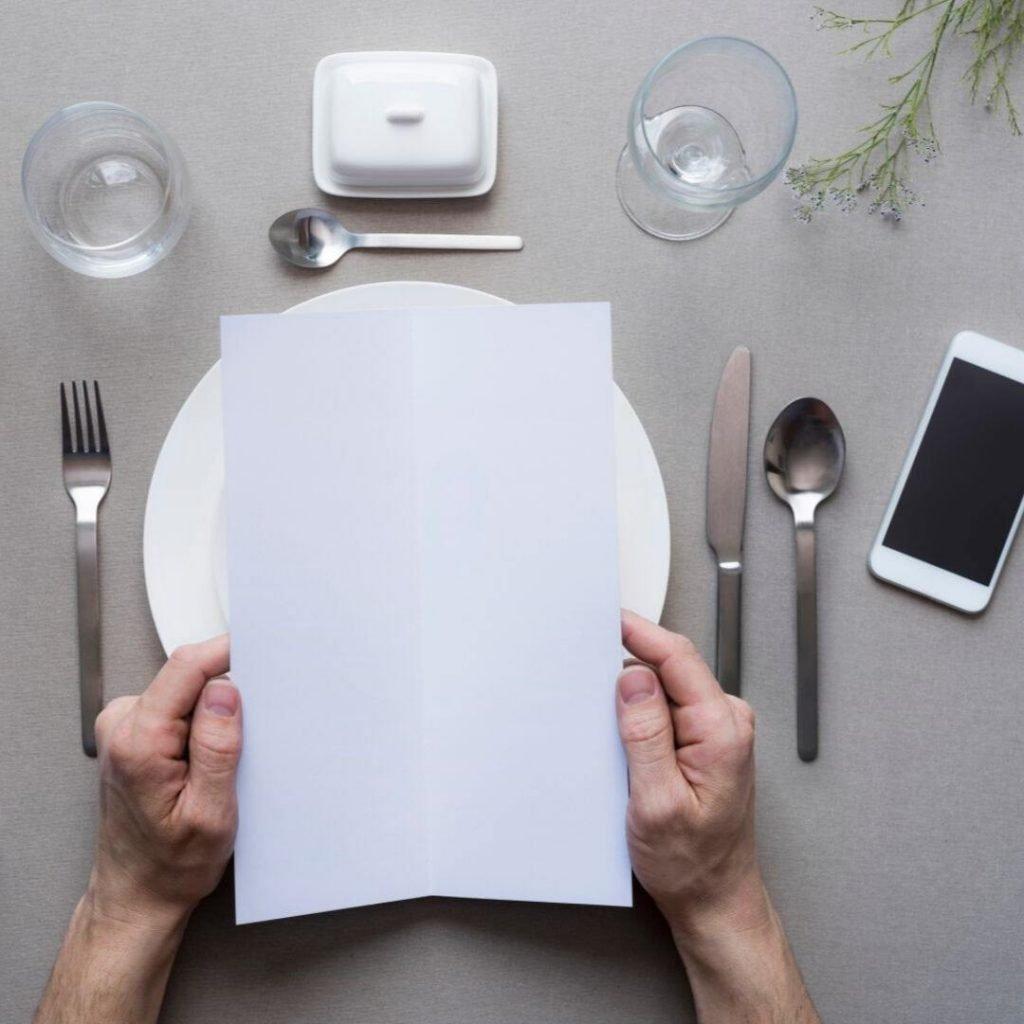 menu samenstellen voor het keto dieet