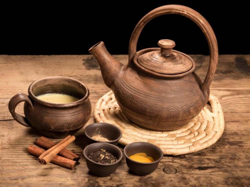 Chroom in thee en specerijen