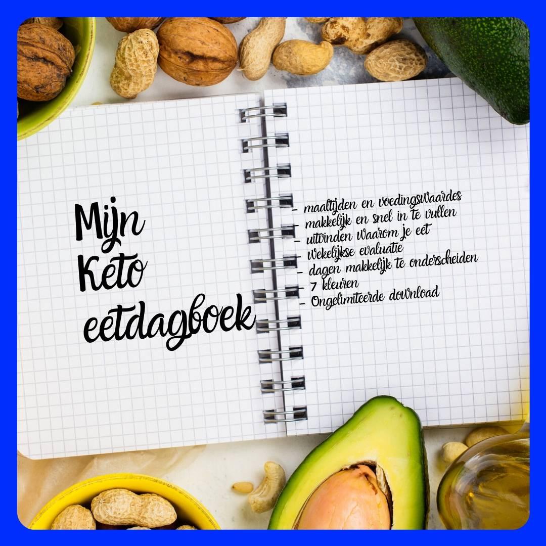 Mijn Keto Eetdagboek