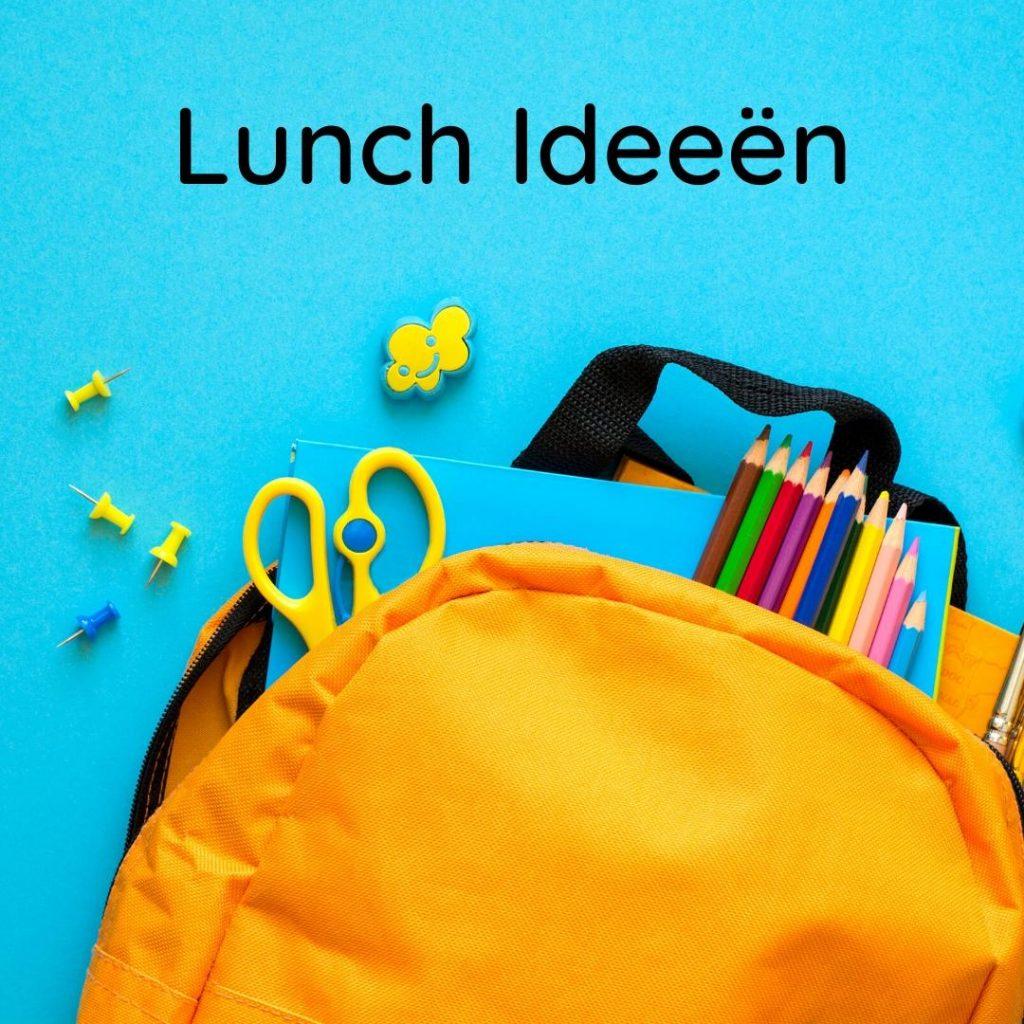 lunch ideeën