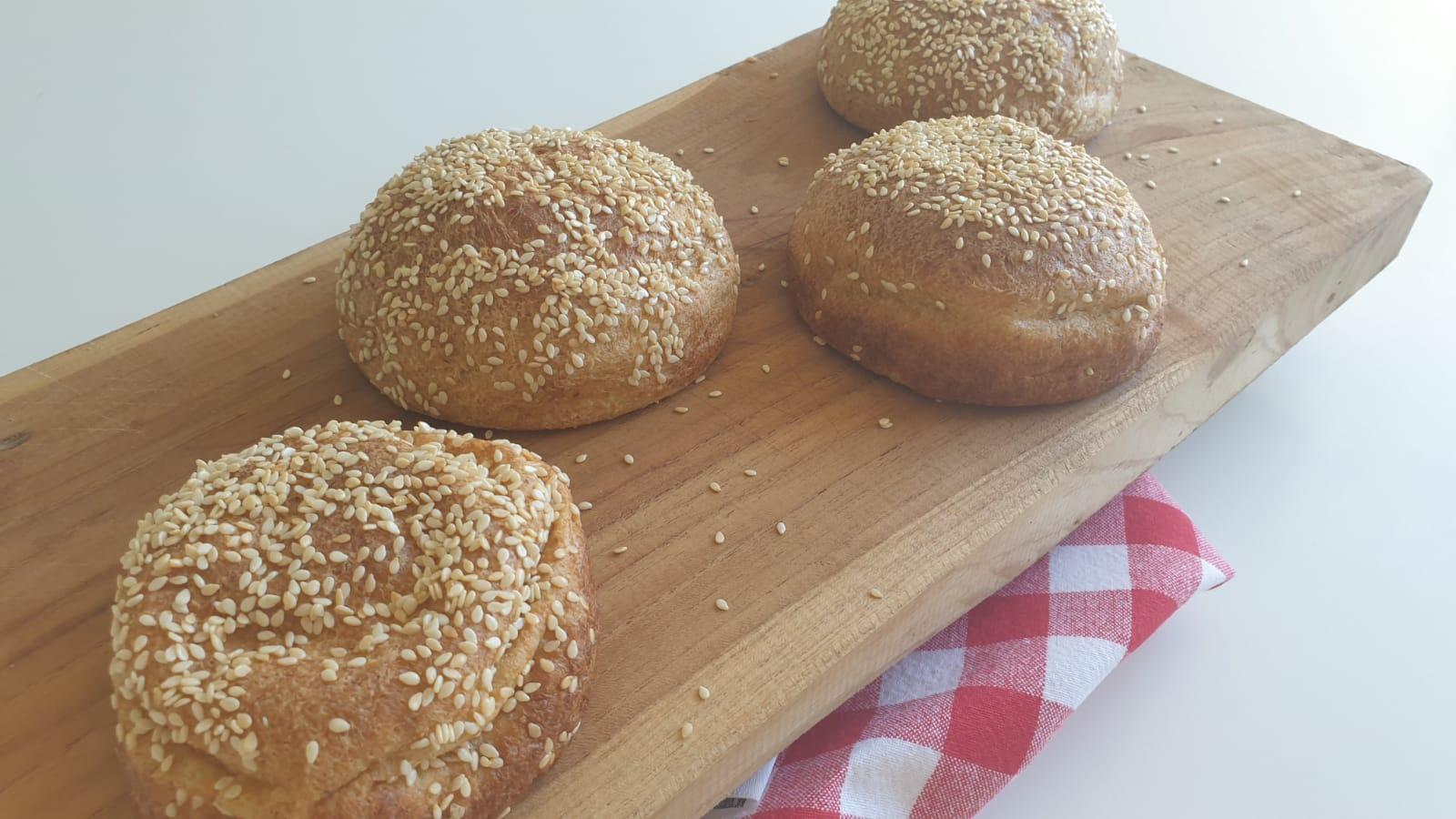 Keto hamburgerbroodjes