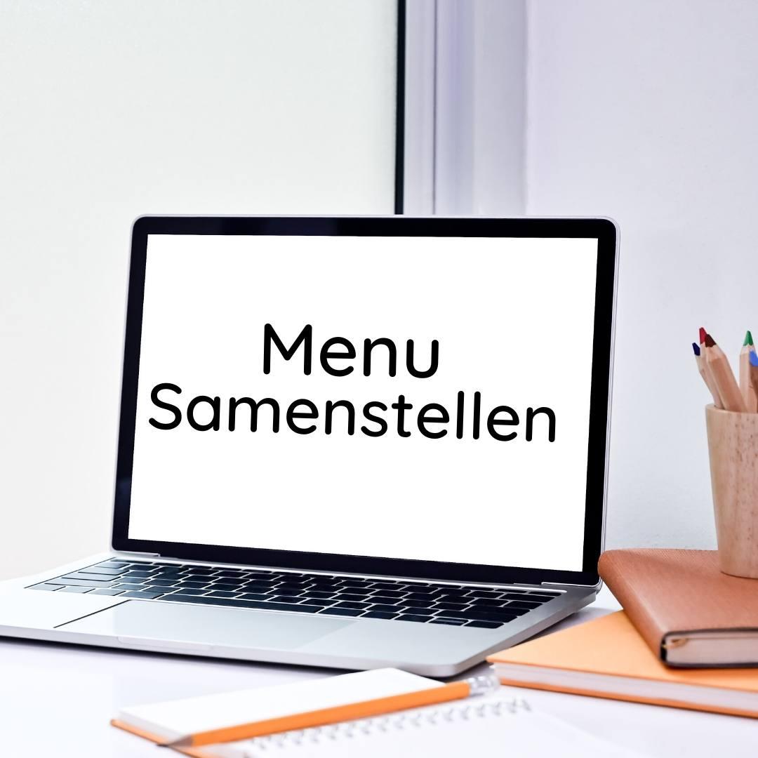 menu samenstellen
