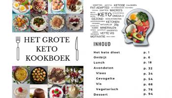 het grote keto kookboek afbeelding